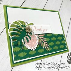 Stampin' Up! Tropical Chic Card – Stamp It Up with Jaimie