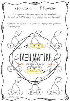 Μαγικά Μαθηματικά: κερασάκια - διδυμάκια