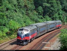 LIRR 300 Long Island Railroad FL9AC at Crugers, New York by Graham Atkin