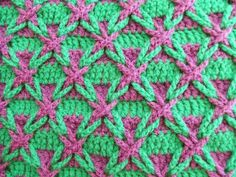 My world of crochet: Kissen Polnischer Stern ist fertig...