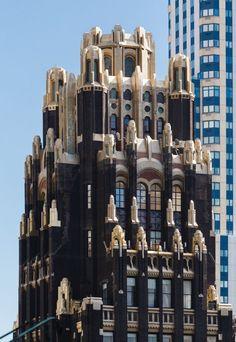 New York Architecture, Neoclassical Architecture, Commercial Architecture, Architecture Photo, Beautiful Architecture, Modern Architecture, Unique Buildings, Beautiful Buildings, Famous Buildings
