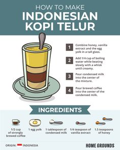 5 Egg Coffee Recipes [Tastes Better Than it Sounds] Egg Coffee, Coffee Menu, Iced Coffee, Drink Coffee, Coffee Is Life, Coffee Love, Coffee Shop, Coffee Infographic, How To Order Coffee