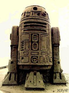 R2-D2 : Sand Sculpture
