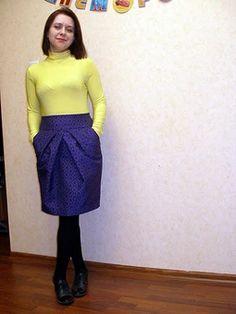 Модели, сшитые по выкройке Юбка на широкой кокетке Skirts, Fashion, Moda, Fashion Styles, Skirt, Fasion, Skirt Outfits, Dresses
