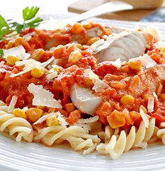 Tomatsei med pasta