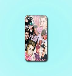 Justin Bieber Collage  Print on hard plastic  by PureCaseDesign, $14.00