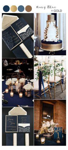 Bronze Wedding Colours, Navy Wedding Colors, Gold Wedding Theme, Copper Wedding, Gold Wedding Decorations, Golf Wedding, Wedding Centerpieces, Wedding Flowers, Wedding Ideas