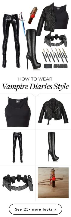 """Last witchhunter"" by forever-an-angel on Polyvore featuring Yves Saint Laurent, Lost & Found, Nasty Gal and Giuseppe Zanotti"
