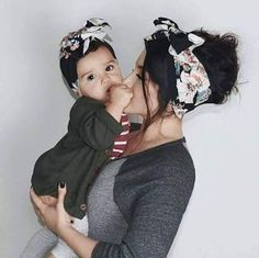 Baby Fashion Photography Mother Daughters Ideas - It's a Girl Mother Daughter Photos, Mother Daughter Photography, Mother Daughter Outfits, Mommy And Me Outfits, Mother Daughters, Daughter Quotes, Mother And Baby, Mom And Baby, Mother Mother