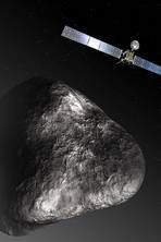 European Space Agency gives in to demands to release pictures of Rosetta spacecraft's decade-long hunt for comet