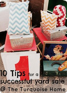 Great tips for a successful yard sale!