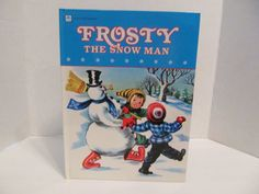 Frosty The Snowman 1950 A Golden Book by CellarDeals on Etsy