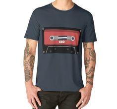 'Cassette' Art Board Print by iopan Long Winter, Postmodernism, Design Products, Art Boards, Chiffon Tops, Classic T Shirts, Canvas Prints, Mens Tops, Fashion