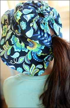 2cfca9932187c Reversible Sun Hat – IJ956 - Back View - fashionable reversible hat sewing  pattern featuring two