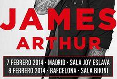 Concierto de James Arthur en Madrid