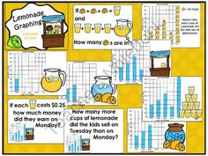 43 pages of Graphing! FREEBIE & Common Core Aligned!