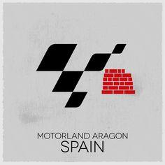 MotoGP Tour Logo: round 14, Spain.