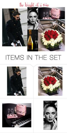 """""""the knight of a rose"""" by snowmoon ❤ liked on Polyvore featuring art"""