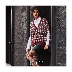 REBELLIOUS STREAK: Cool-girl attitude with polished edge. Punk-inspired dressing gets a modern update this season from bold checks to luxe leathers. Discover your rebel #style this week in #THEEDIT. Photographed by @philip_messmann; Styled by @moppy_pilcher.  via NET-A-PORTER MAGAZINE OFFICIAL INSTAGRAM - Celebrity  Fashion  Haute Couture  Advertising  Culture  Beauty  Editorial Photography  Magazine Covers  Supermodels  Runway Models