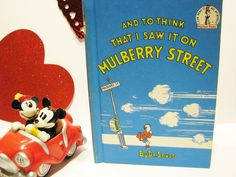 "Vintage Dr Seuss Book Club- "" And to think that I saw it on Mulberry Street "" - 1964 by ScrapPantry, $9.99 USD"