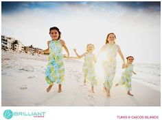 Sunny, backlit beach family shoot. Lifestyle Photography   Andy Mann at Brilliant Studios, Turks and Caicos
