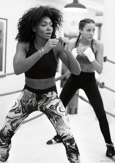 Shadowbox / Brittany Clybourn, Boxing, Fitness / Garnace Doré
