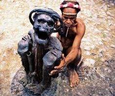 cannibals of Papua New Guinea