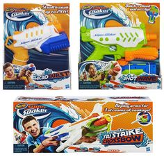 NERF SUPER SOAKERS on Behance