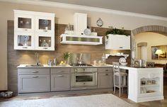 Cucine bicolore - Cucina classica | Cucina, Living rooms and Kitchens