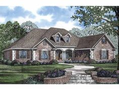 Colonial House Plan with 2875 Square Feet and 5 Bedrooms from Dream Home Source | House Plan Code DHSW55648