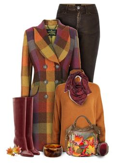 """""""Vivienne Westwood Colorful Fall Fashion"""" by superstylist ❤ liked on Polyvore featuring River Island, Vivienne Westwood Anglomania, Diane Von Furstenberg, Sportmax, Halogen, Anuschka and Ben-Amun"""