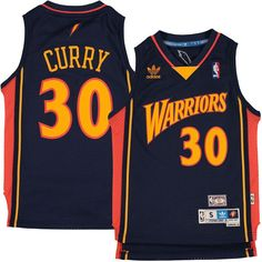 59793ebd4bc9 Stephen Curry Golden State Warriors adidas Youth Hardwood Classics Soul  Jersey - Navy