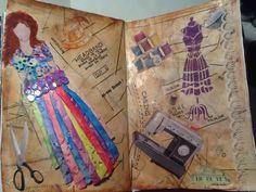 Art Journal Pages, Mixed Media Art, My Arts, Tote Bag, Mixed Media, Totes, Tote Bags
