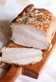 Mielonka (zwana teĹź luncheon meat) z szynkowara Cold Cuts, Kielbasa, Banana Bread, Food And Drink, Cooking Recipes, Cheese, Snacks, Meat, Baking