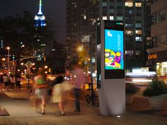 Let's see Clark Kent change into Superman in this! New York will replace all their phone booths with WiFi hubs. How cool is that? It's SO kewl, my current city should have WiFi hubs!