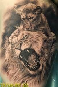 Suche Tattoos de leones. Ansichten 24755.
