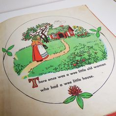 Vintage The Tale of the Wee Little Old Woman 1958 by Elsa Beskow at CraveCute