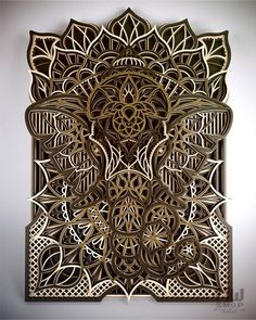 Your place to buy and sell all things handmade Laser Art, Laser Cut Wood, Laser Laser, Laser Etcher, Router Projects, Wood Projects, Lotus Flower Mandala, Cnc Router Machine, Small Cafe Design