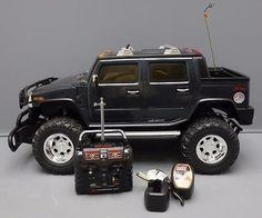 awesome New Bright Remote Control Hummer H2 with Charger Battery
