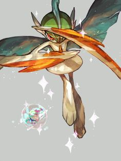 DREAM TEAM: Gallade is awesome. Just look at that thing! I'm a big swords fan, and a Pokémon with swords attached to it is a must for me. This one is mainly for design :).