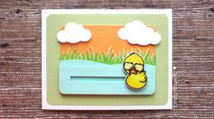 DIY Duck Slider Card with Video Tutorial