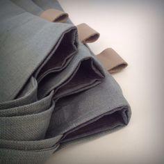 Handmade Linen Totes