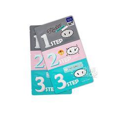 [Holika Holika] Pig-nose Clear Black Head 3-Step Kit Rinishop   eBay