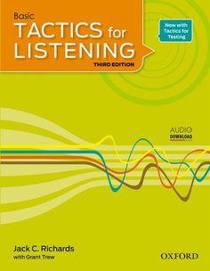 Basic Tactics for Listening edition (Student Book + Teacher Book + Audio Cd)-superingenious Ielts Listening, Listening Test, Listening Skills, English Book, Learn English, Economics Lessons, Exam Success, Teacher Books, Student Motivation