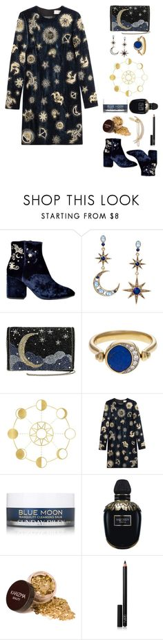 """""""MOON"""" by roberta-sorrentino ❤ liked on Polyvore featuring Ash, Betsey Johnson, Pamela Love, Emilio Pucci, Sunday Riley, Alexander McQueen, NARS Cosmetics and Tasha"""