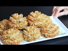 Turkish Recipes Asian Recipes Filo Cookie Recipes Macaroni And Cheese Frittata Homemade Sweet Pastries Creativity Fruit Buffet, Baking Recipes, Dessert Recipes, Beef Tenderloin Recipes, Pink Banana, Food Carving, Thai Dessert, Gula, Puff Pastry Recipes