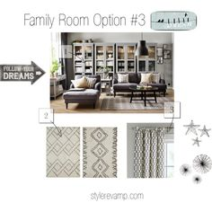 Family Living Room Options