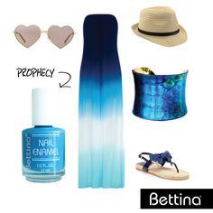 Combínate de azul con nuestro #BettinaNailEnamel Prophecy. #nails