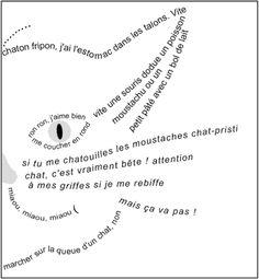 """Le Carnaval des Ani-Mots: """"Calligrammes"""" à la manière d'Apollinaire!"""