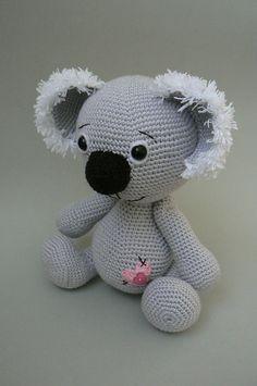 Ravelry: Koala Bear crochet pattern pattern by Katka Reznickova #crochet